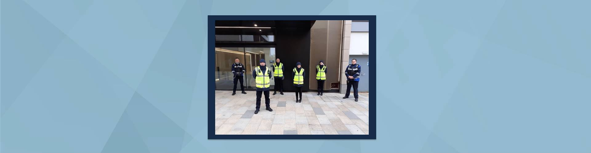 NSL Covid Marshals protecting local communities and keeping town centres safe