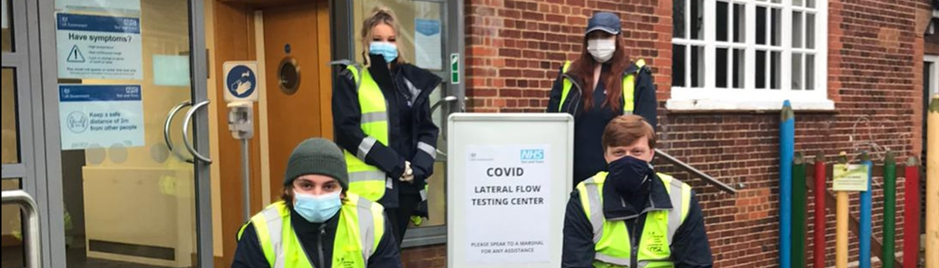 NSL assists with the rollout of community testing centres